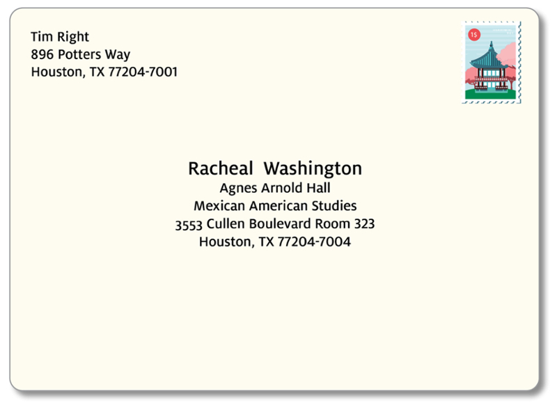 how to address an international letter address formatting of houston 22241 | addressed envelope community 8x4 125