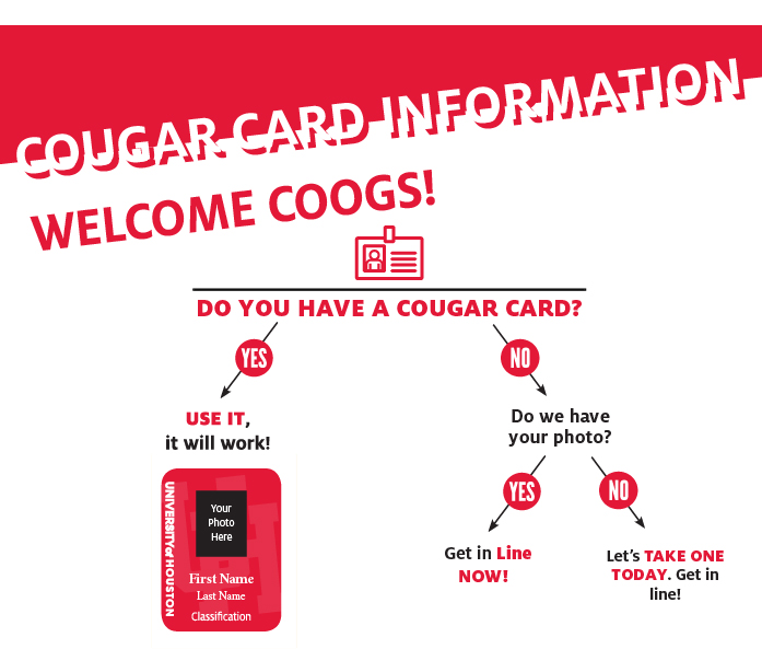 What Does It Take To Get Into New >> New Cougar Card University Of Houston