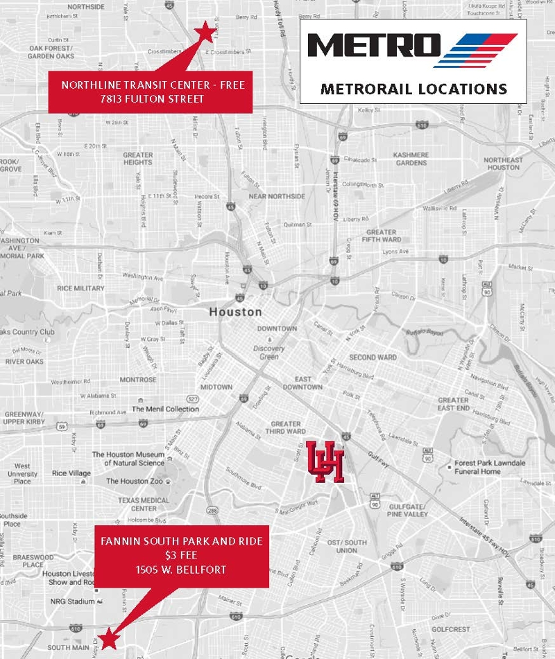 Other options for getting to campus - University of Houston