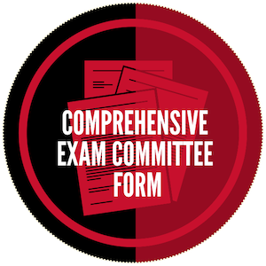 Comprehensive Exam Committee Form