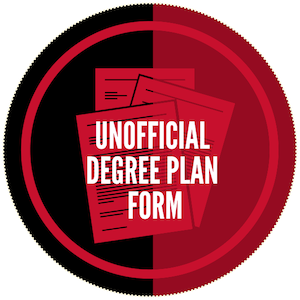 Unofficial Degree Plan Form