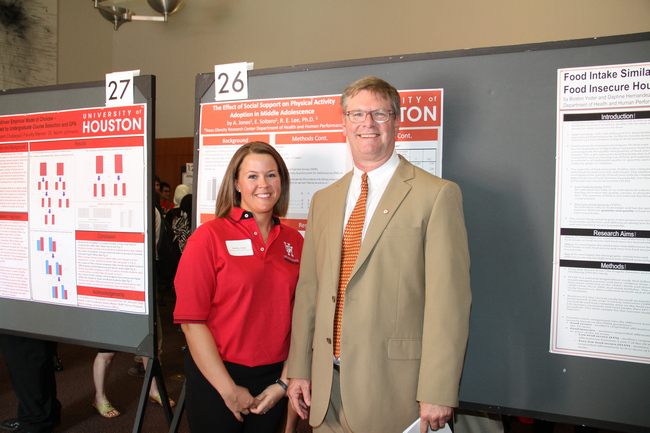hhp students showcase their research at undergraduate