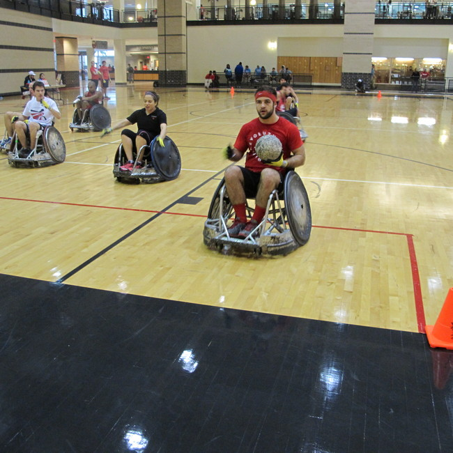 Uno Wheelchair College Tournament: Adaptive Athletics At UH In The News