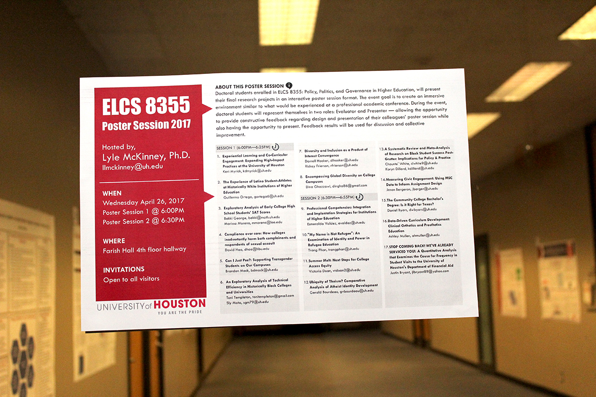Graduate Students Present Research on Pressing Topics in
