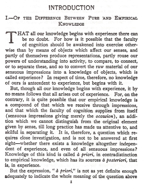 No  2717: Kant's Critique of Pure Reason