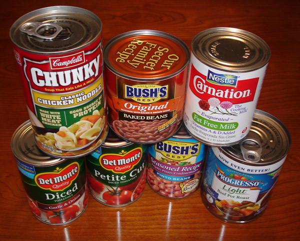 Canned Food Store