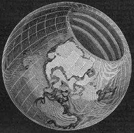 Americus Symmes' Hollow Earth