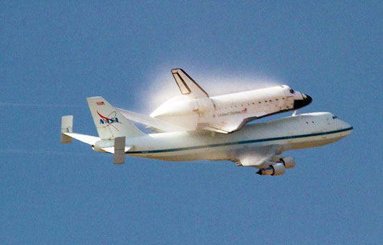 space shuttle flying - photo #42