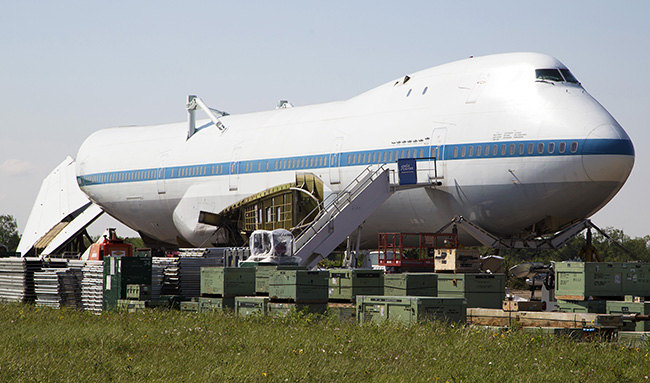 NASA 747 Inside - Pics about space