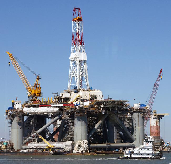 No 2950 Oil Under The Sea
