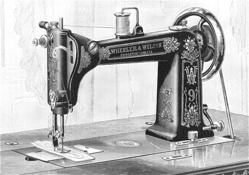 No 40 Sewing Machine Classy Invented Sewing Machine