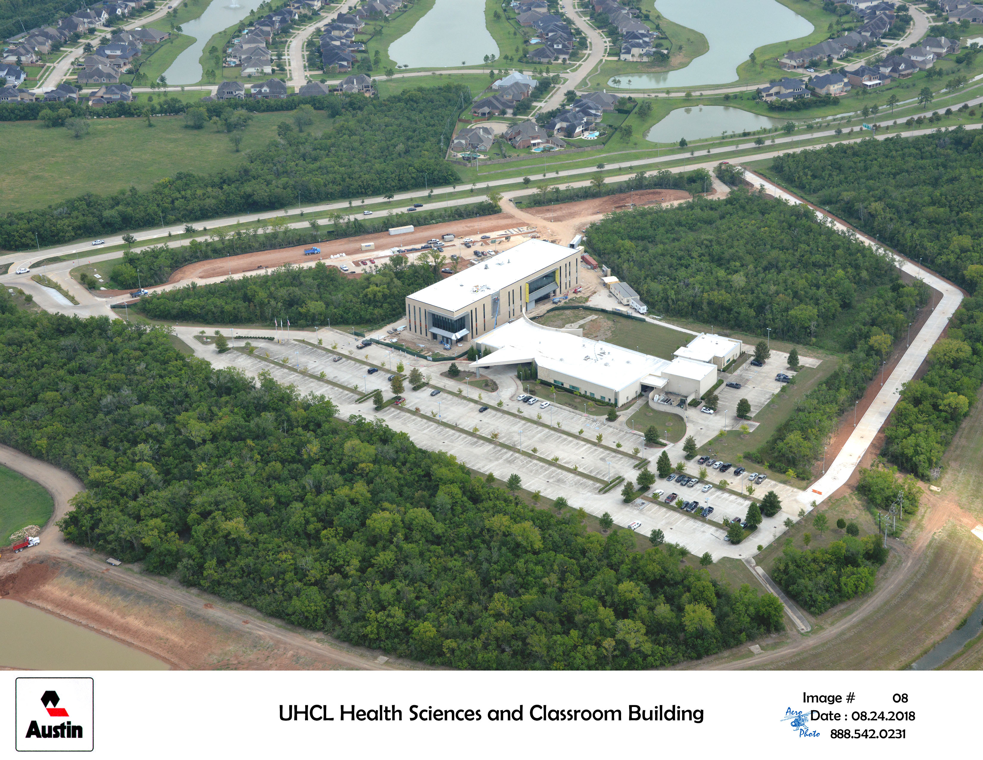 Uh Clear Lake Pearland Health Science Building