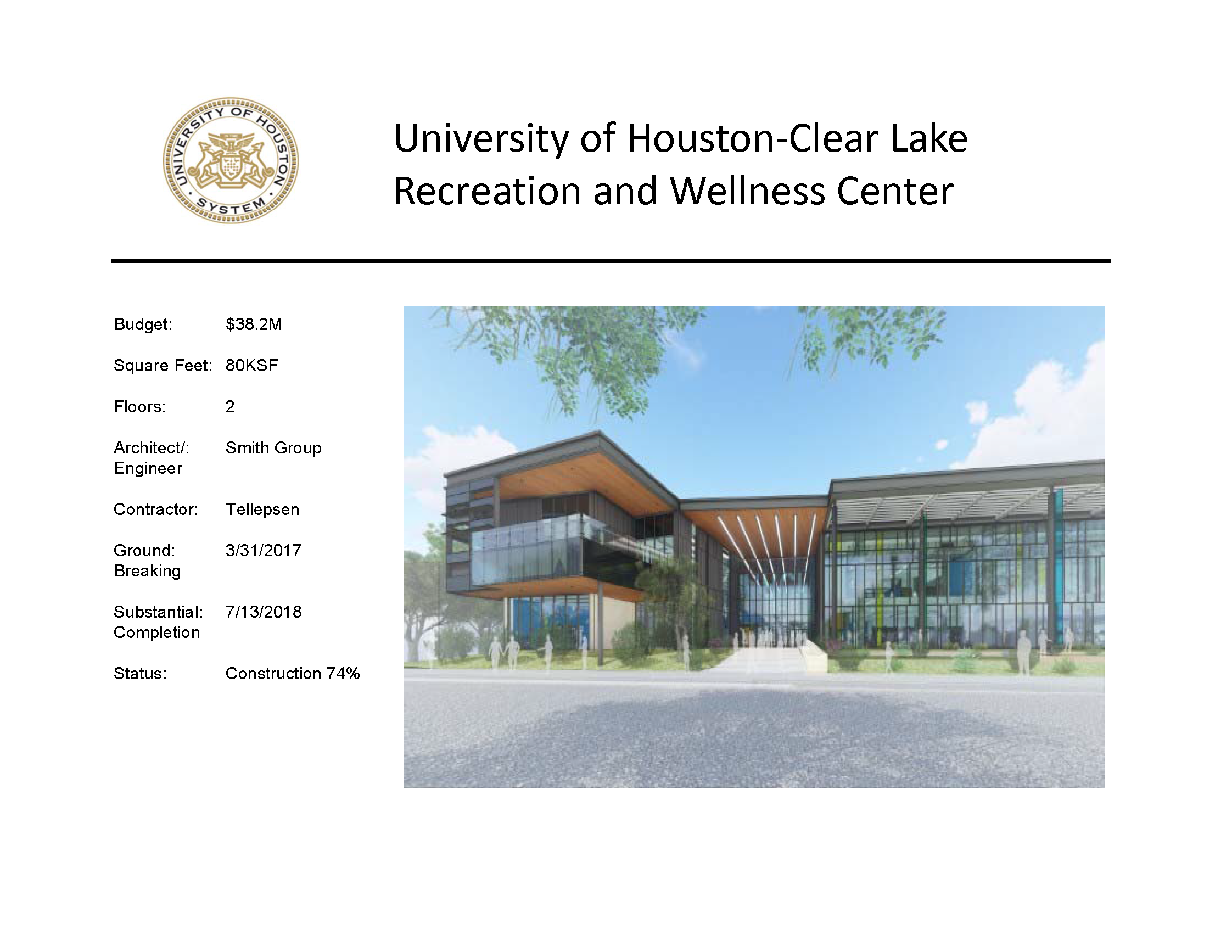 Uh Clear Lake Campus Map.Projects University Of Houston