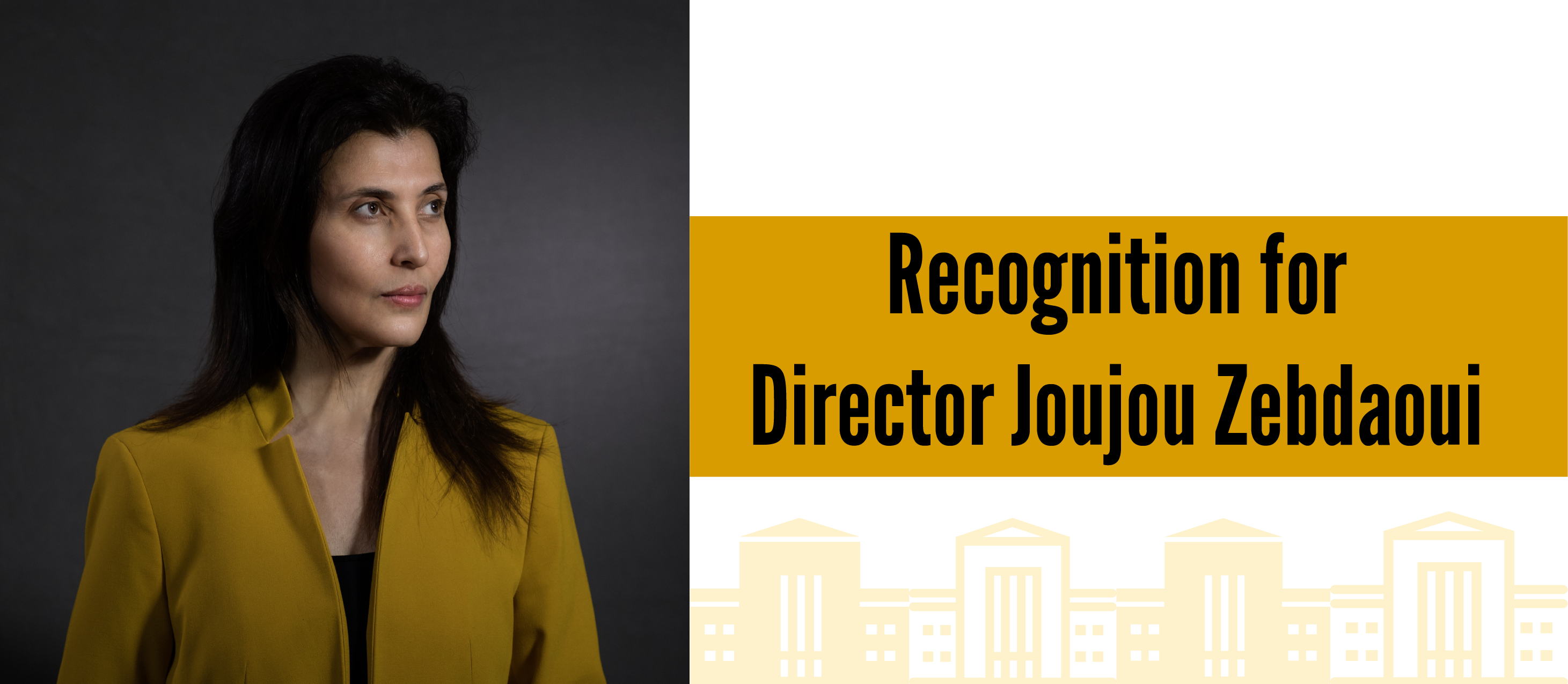 Recognition for Director Joujou Zebdaoui