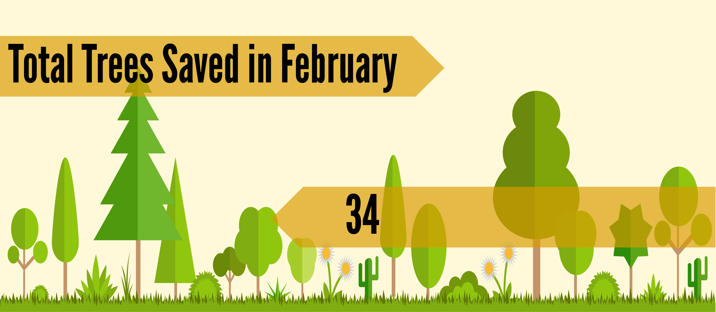 Tree Saved February