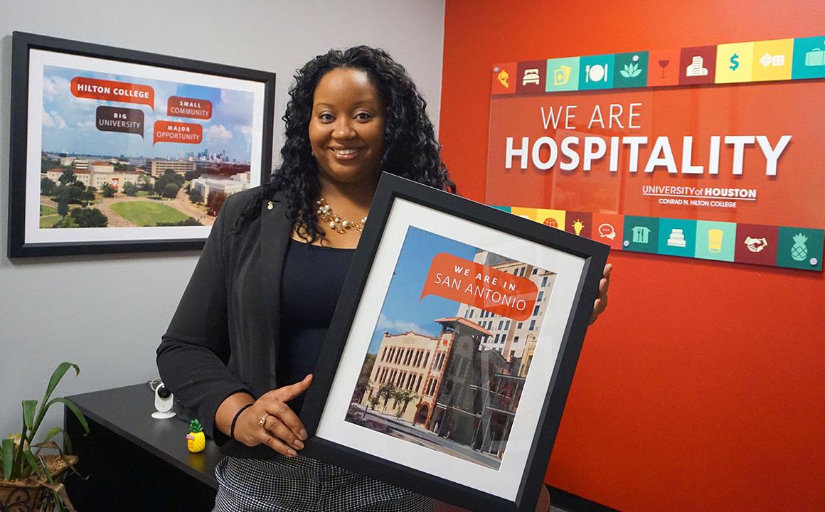 Marvelous Ashli Johnson Takes Helm At Hilton College San Antonio Home Remodeling Inspirations Basidirectenergyitoicom