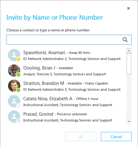 Make a Conference Call - Skype for Business - Windows