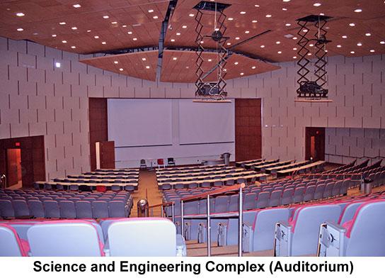 sec auditorium