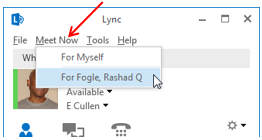 how to get contact list in skype for business