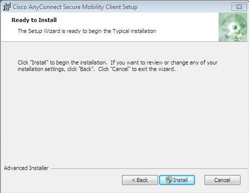 VPN Installation Instructions for Windows - University of