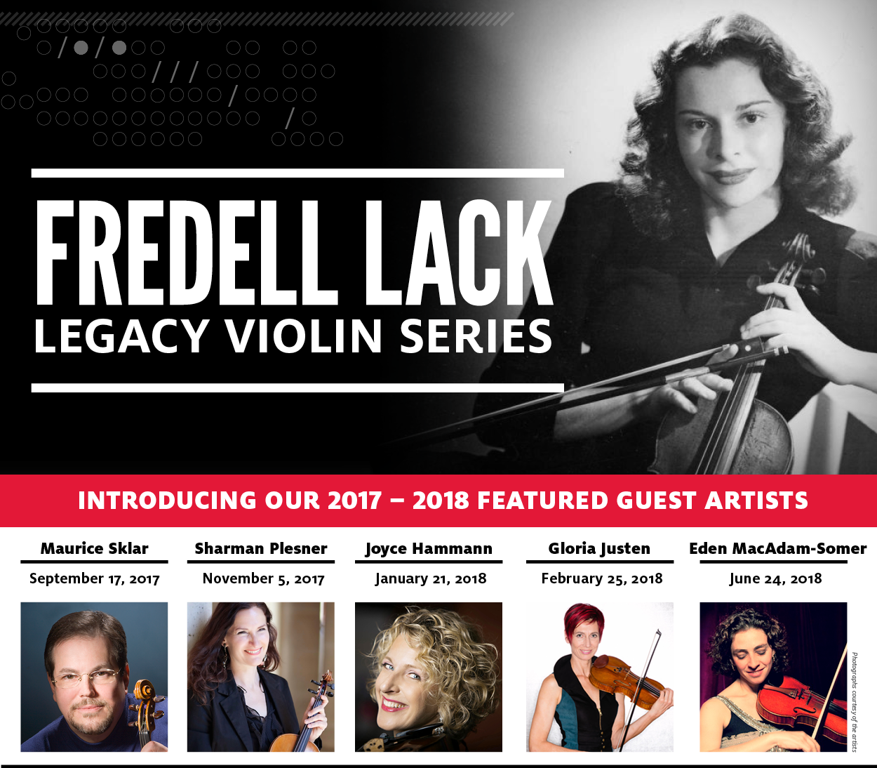 Serie Lack.Fredell Lack Legacy Violin Series University Of Houston