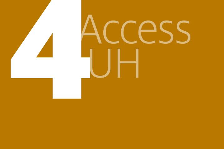 step 4: AccessUH