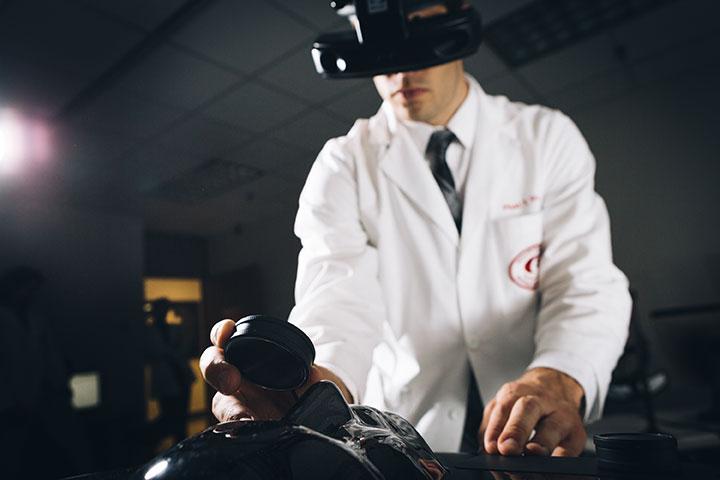 Optometry student