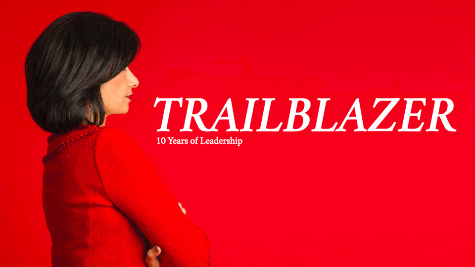 Trailblazer 10 years of leadership