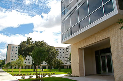 photo of the Cougar Village (Freshman Housing)