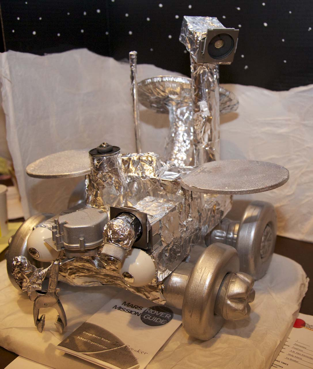 mars rover school project - photo #4