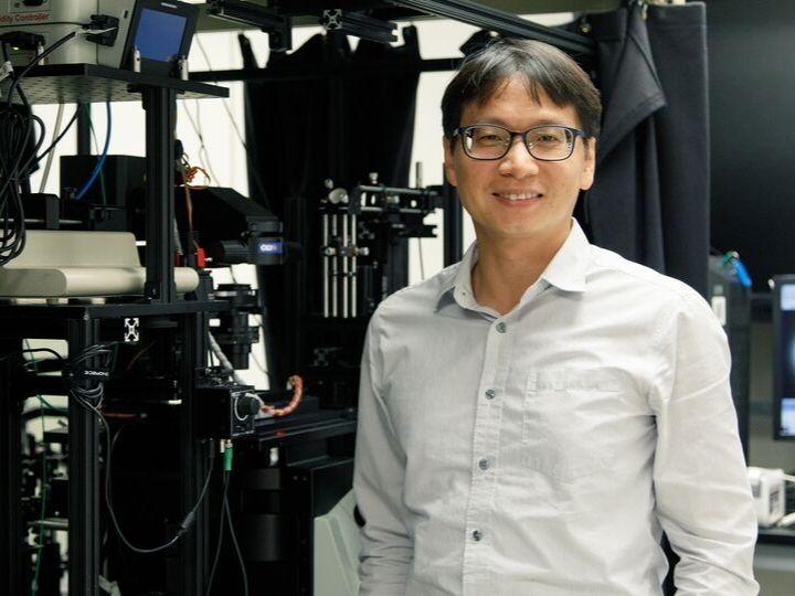 Assistant professor of chemistry Tai-Yen Chen