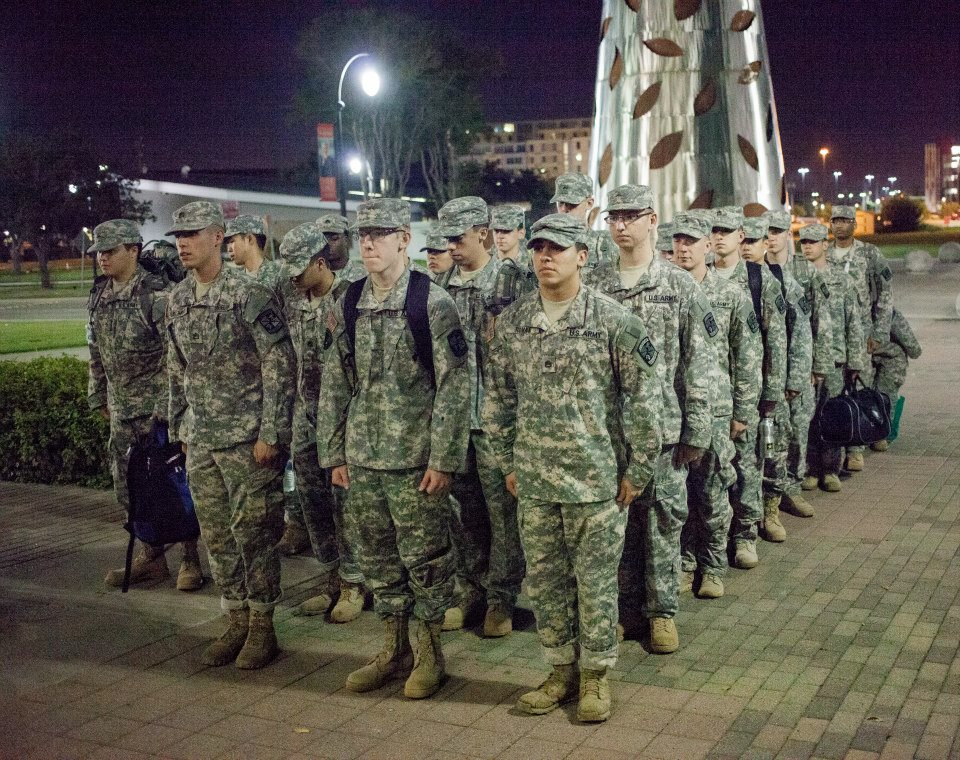 uh army rotc battalion sets goals for growth additional scholarships university of houston