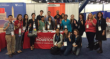 Students and Faculty Attend the Grace Hopper Celebration of