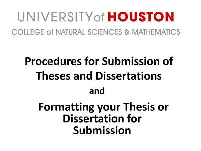 uh nsm dissertation