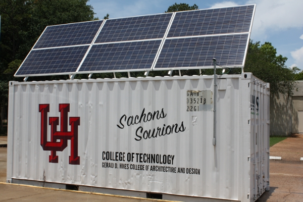 Tech Savvy Minds Transform A Shipping Container Into A