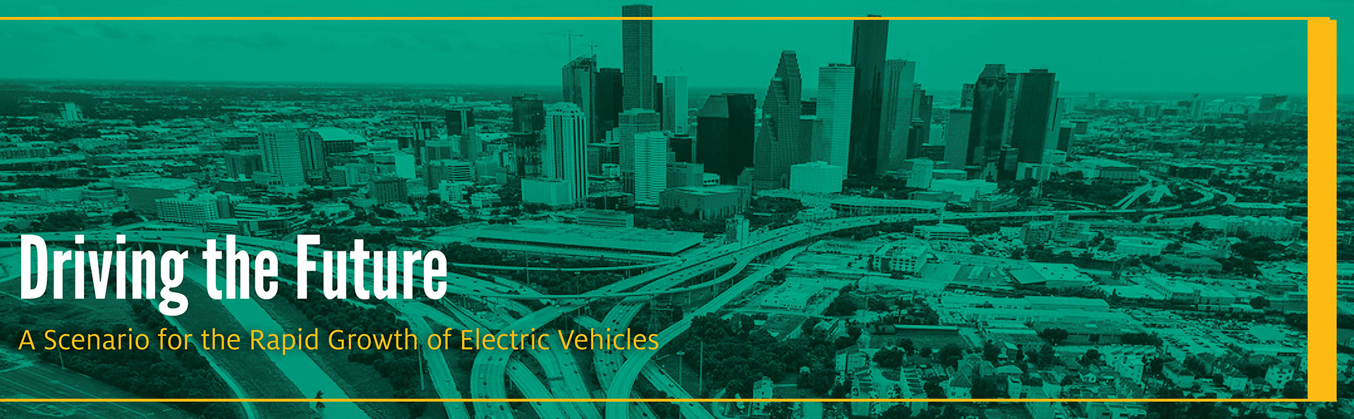 Driving the Future: A Scenario for the Rapid Growth of Electric Vehicles
