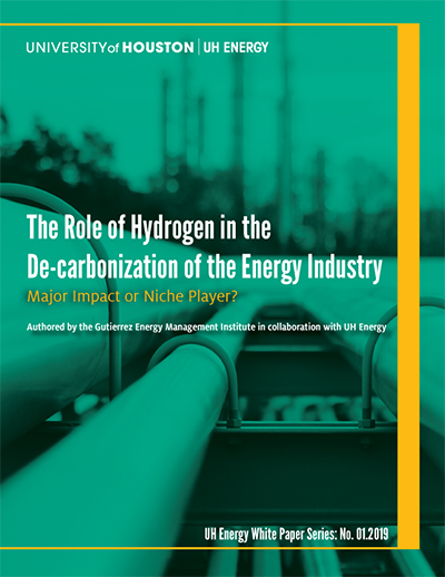 The Role of Hydrogen in the De-carbonization of the Energy Industry
