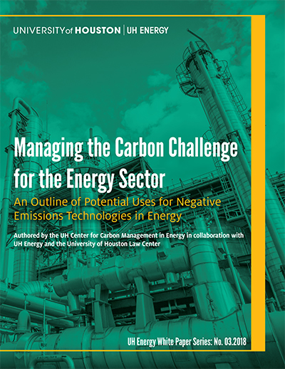 Managing the Carbon Challenge for the Energy Sector: An Outline of Potential Uses for Negative Emissions Technologies in Energy