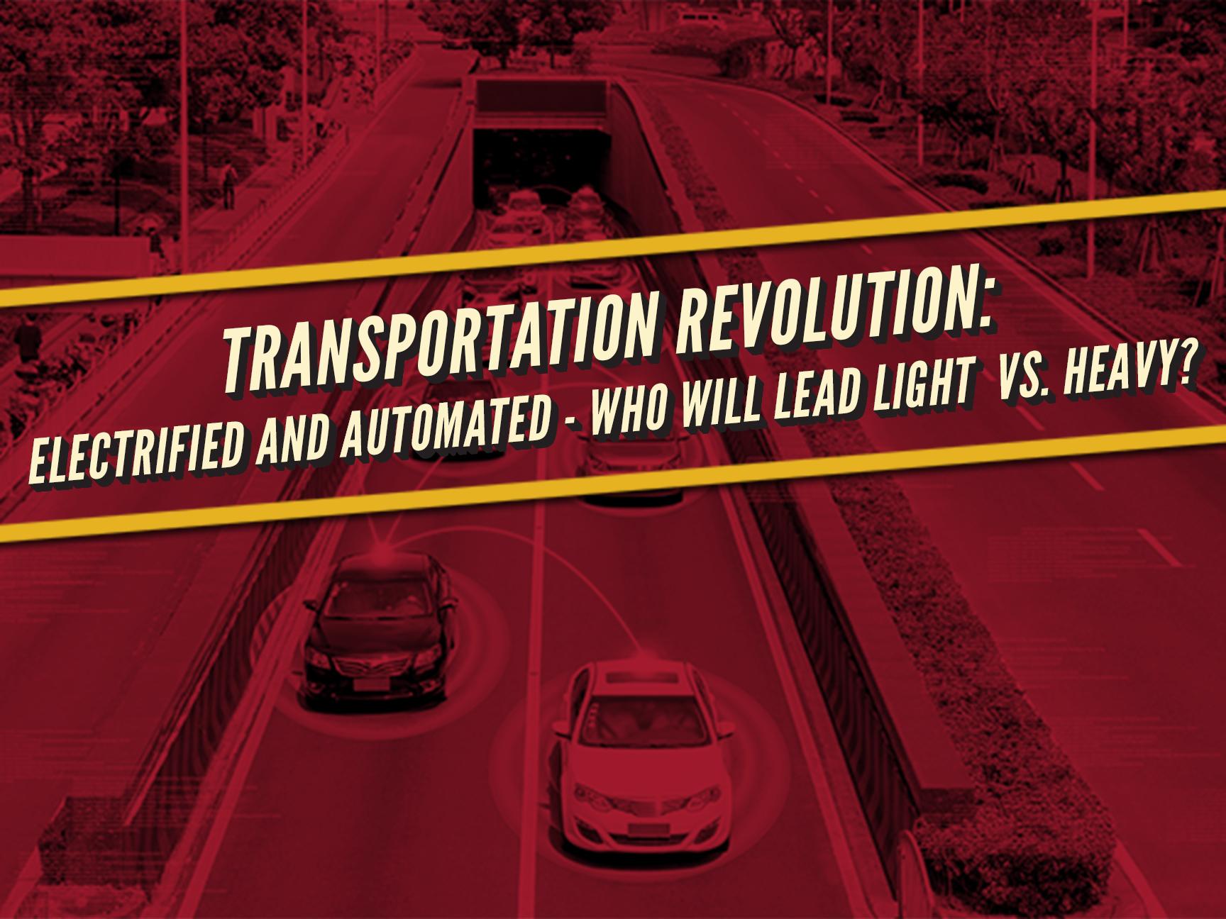 Transportation Revolution Symposium Banner Image